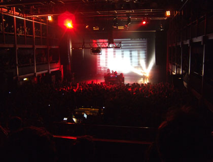 Amon Tobin live in AB Brussels