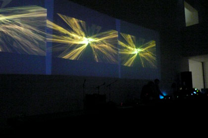 Boris and Brecht Debackere [BE] performing live at Smak Ghent