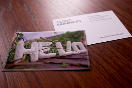 Cloudswimmers businesscards