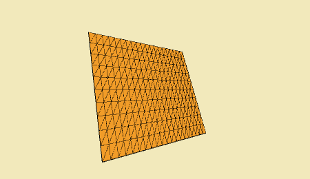 A grid created with Hemesh
