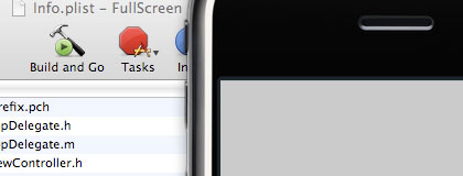 The Status Bar is now hidden in iPhone Simulator