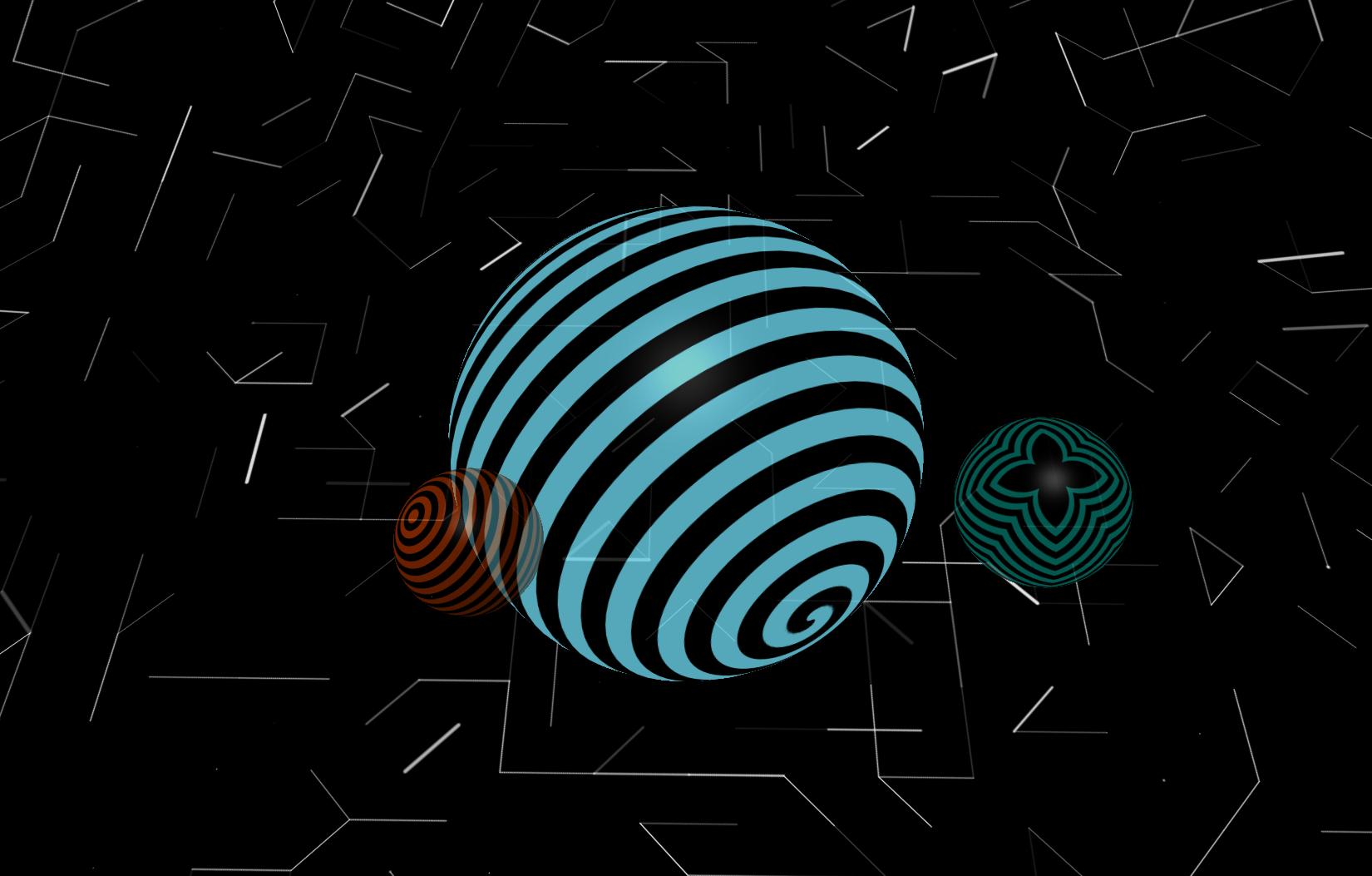 Webgl Music Visualiser